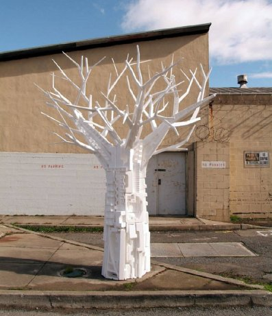 Styrofoam Tree by Dio Mendoza